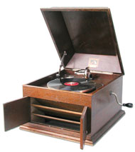 His Master's Voice Table Gramophone